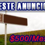 Banner en los clasificados de Peninsular Digital
