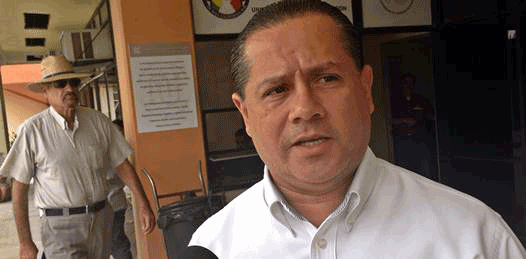 El diputado Ernesto Ibarra Montoya