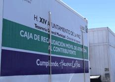 A partir del 30 de mayo, los usuarios que radican en las comunidades alejadas de la capital podrán cubrir sus contribuciones en las cajas móviles que instalará el Ayuntamiento de La Paz