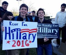Listos con Hillary