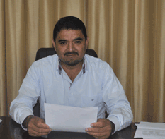 Alcalde Jorge Alberto Avilés Pérez.