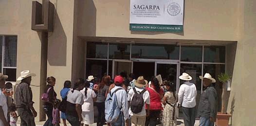 """Piden campesinos a SAGARPA que apoye """"a los más desprotegidos"""""""