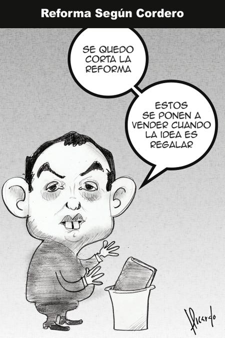 La reforma según Cordero