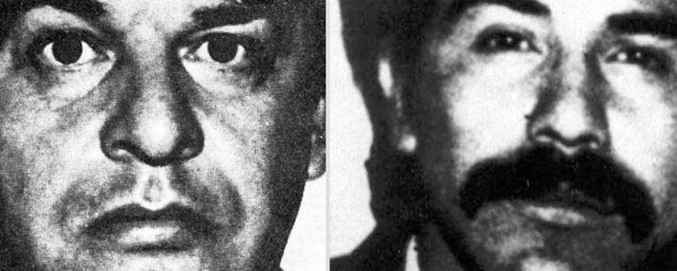 Enrique Camarena Salazar y Rafael Caro Quintero