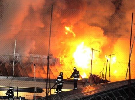 Incendio en cárcel chilena