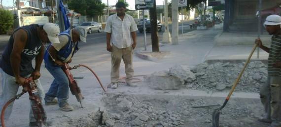 proyecto de pavimentación.