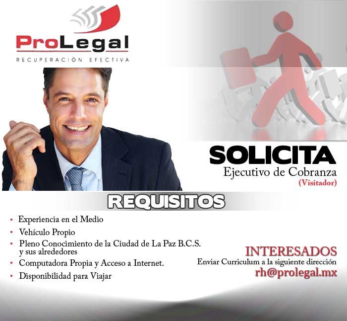 Prolegal: oferta de empleo