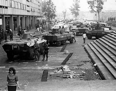matanza en Tlatelolco