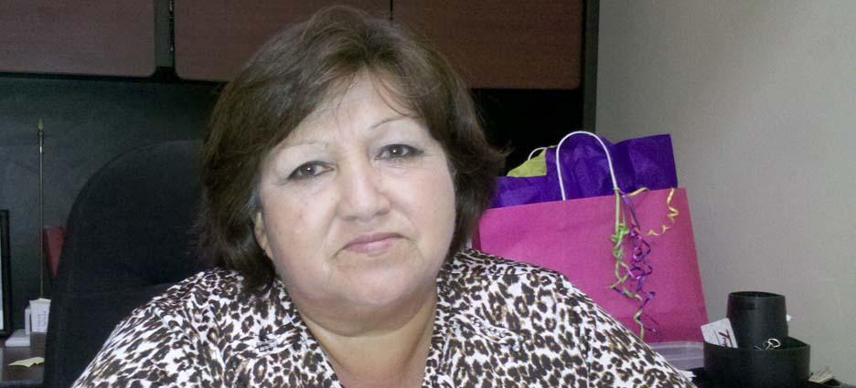 Guillermina Botello, directora municipal de Educación.