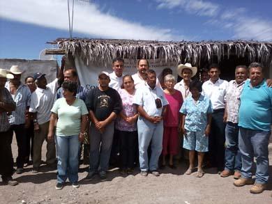 habitantes de las comunidades de San Juan Londó y San Juaniquito