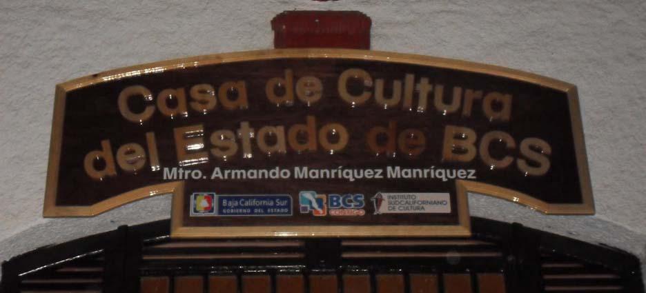 Casa de Cultura del Estado