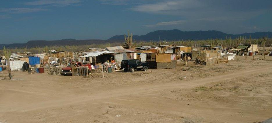 colonias de La Paz