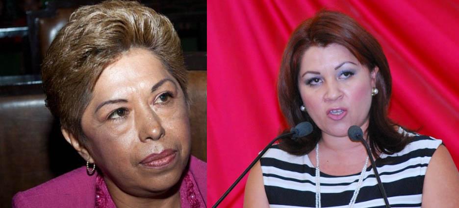 diputadas Ayala y Paes