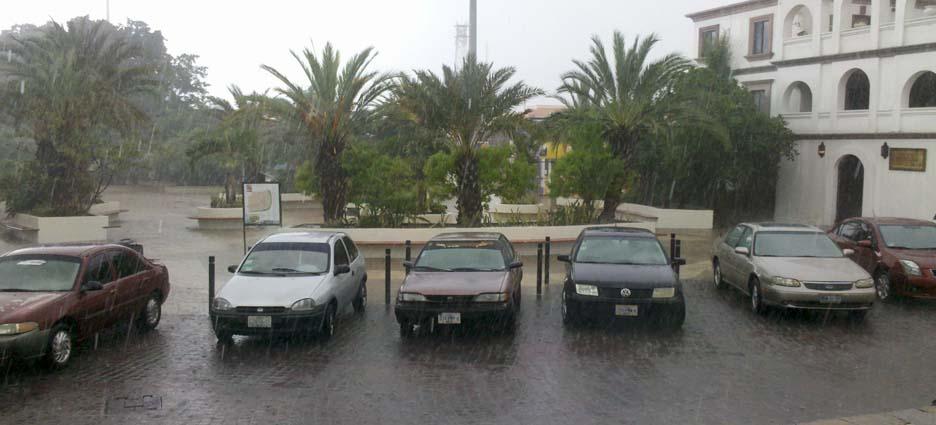 Lluvias en SJC