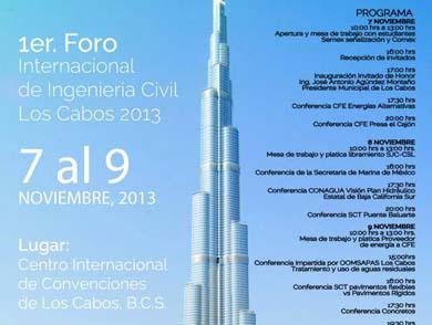 1er Foro Internacional de Ingeniería Civil