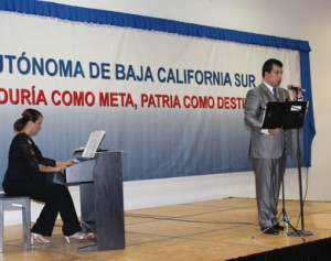 El tenor Enrique Astorga y la pianista Cristina Montero