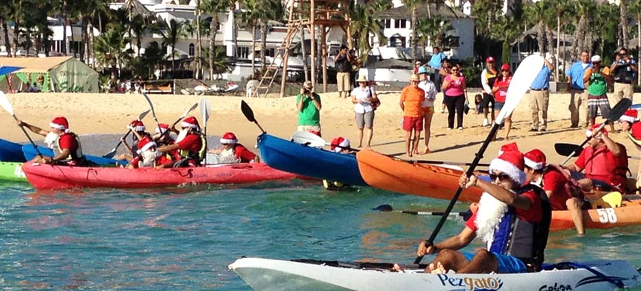 Cambiaron el trineo por kayaks peninsular digital