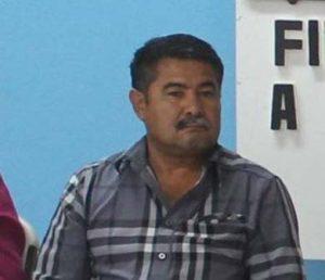 El Tesorero municipal, Guadalupe Ramírez Núñez.