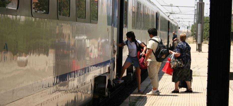 Tren a BCS