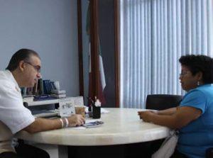 Presidenta del comité de vecinos de Loma Obrera.