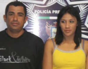 Néstor Guadalupe Martínez Villalobos y Sujeidy Yudit Campos.