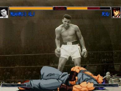 máquina simuladora de boxeo