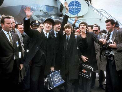 The Beatles en América'