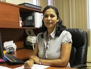 La directora de Ingresos, Norma Isela Flores
