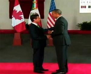 Obama y EPN