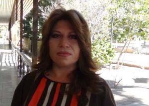 Alba Aurora Aguilar Moreno directora de Arte y Cultura del Ayuntamiento de Mulegé
