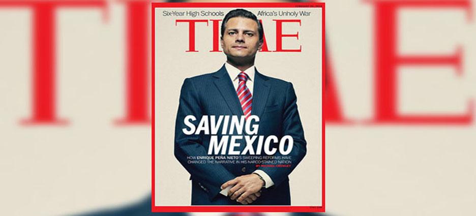 """Enrique Peña Nieto será """"el salvador de México""""."""