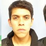 Emir Efrén García Moo, Javier Ricardo Flores Marrón y Salvador Gómez Munguía.
