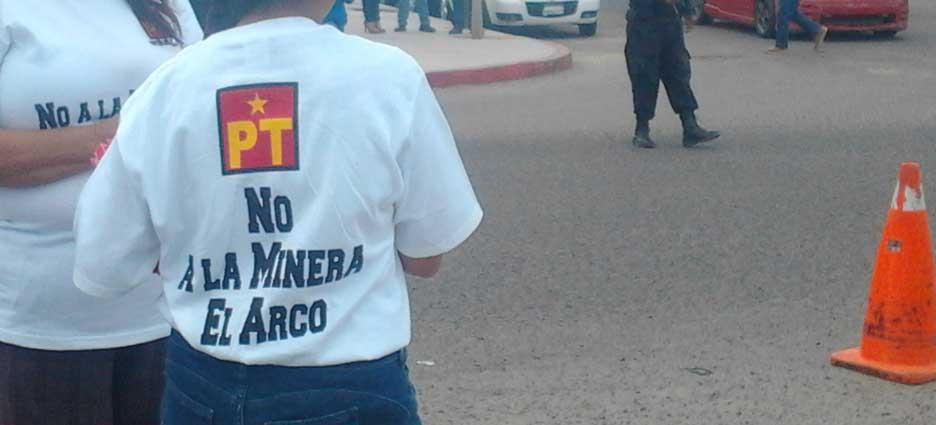"""rechazo a """"El Arco""""."""