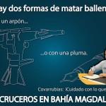 No cruceros en Bahía Magdalena