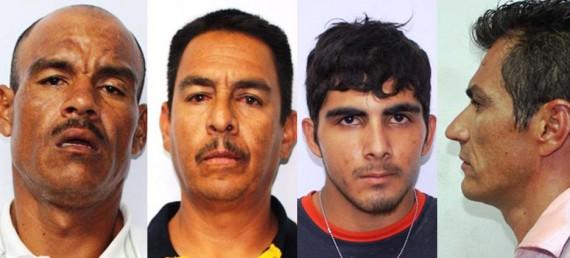 Armando Eduardo Rubalcaba Domínguez, Armando Díaz Méndez, Manuel Salvador Camacho Navarro y Oscar de Jesús Cota Romero.