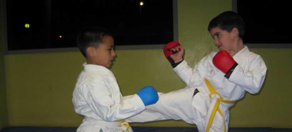 Artes marciales para encauzar la energía de niños y jóvenes.