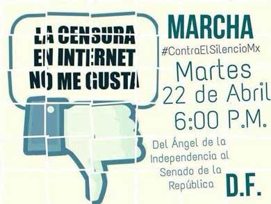 marcha contra ley de telecom