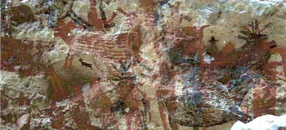 pinturas rupestres bcs