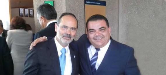 Herminio Corral Estrada señaló que estuvo presente en la toma de protesta de Gustavo Madero.