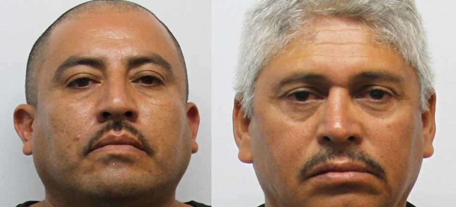 Héctor Alonso Ríos Solas y José Anastasio Velázquez Quiñones.