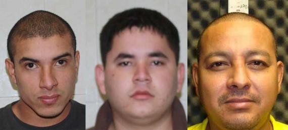 Pablo Alejandro Salas Chávez, Federico Jáquez Mejía y Sergio Espinoza González