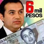6 mil pesos