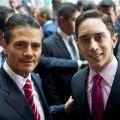 Enrique Peña Nieto y Andrés Liceaga Gómez