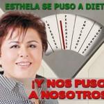 Ethela nos puso a dieta