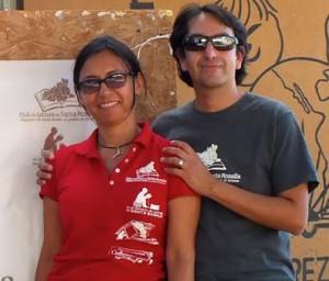 Patricia Valenzuela y Edgardo Maya