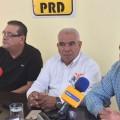 En rueda de prensa, los representantes del PRD, Movimiento Ciudadano y Partido del Trabajo, Rosa Delia Cota, Erasmo Castañeda y Alfredo Porras informaron sobre el avance de las negociaciones que definirán a los abanderados a puestos de elección popular.