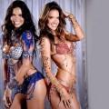 Adriana Lima y Alessandra Ambrosio.