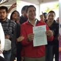 Elizabeth Wayas, Axxel Sotelo y José Bernal quieren la alcaldía paceña.