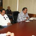 Personal de la dirección general de Desarrollo municipal se reunieron con la alcaldesa Luz del Rocío Sánchez Martínez.