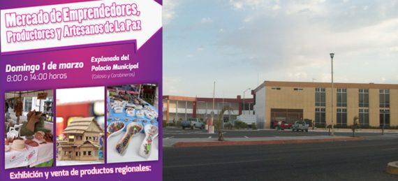 Mercado de Emprendedores, Productores y Artesanos, el cual se instalará en el estacionamiento del Palacio Municipal con el propósito de impulsar a los productores locales